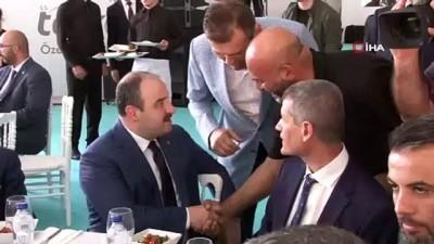 """temel atma toreni -  Sanayi ve Teknoloji Bakanı Varank: """"Özel endüstri bölgelerinde yapılacak yatırımın toplamı 22 milyar lirayı bulacak"""""""