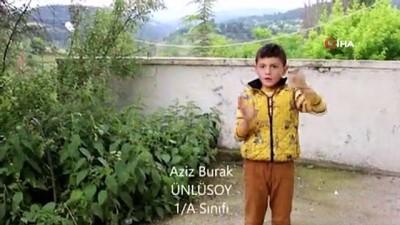 isaret dili -  Şehit Aybüke öğretmen için işaret dili ile şarkı söylediler