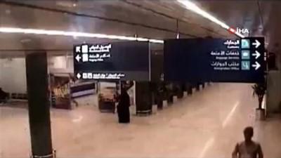 guvenlik kamerasi -  - Suudi Arabistan'daki Havaalanı Saldırısının Görüntüleri Ortaya Çıktı