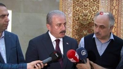 TBMM Başkanı Mustafa Şentop, yargı reformuyla ilgili konuştu