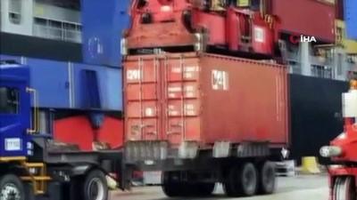 uluslararasi -  Ambarlı limanında 90 kilo kokain yakalandı