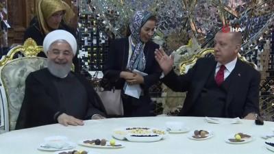 - Cumhurbaşkanı Erdoğan, İranlı Mevkidaşı Ruhani İle Görüştü