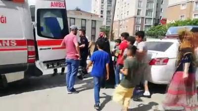 market -  Esenyurt'ta 6 yaşındaki kız 2. kattan düştü