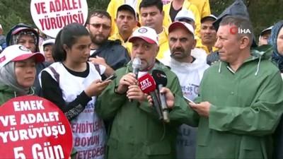 """uluslararasi -  Hak-İş Başkanı Arslan: """"54 gündür müzakere edelim oturalım konuşalım diyoruz"""""""