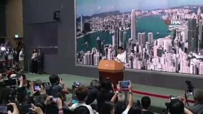 - Hong Kong'da Hükûmetten Geri Adım - İade Yasası İptal Edildi