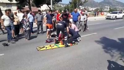 Kaza sonrası gözyaşlarına boğulan kadın sürücünün korktuğu başına gelmedi
