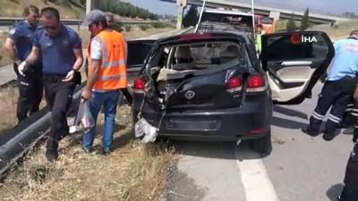 ilk mudahale -  Mersin'de izinli askerler kaza yaptı: 2 ölü, 1 yaralı