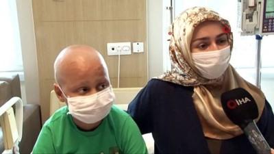 """kan bagisi -  11 yaşındaki lösemi hastası Eren: """"Dışarı çıkınca bisiklet sürmek ve arkadaşlarımla top oynamak istiyorum"""""""