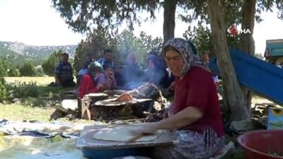 katar -  Anadolu kadınının zorlu yayla mesaisi