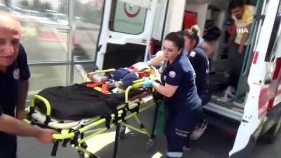 ilk mudahale -  Hafif ticari araç şarampole yuvarlandı: 6 yaralı Haberi