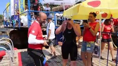 yuzme - Kaş'ta Meis Açık Deniz Yüzme Yarışı yapıldı