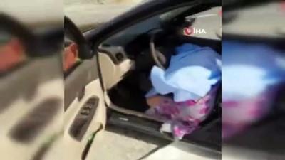 Kontrolden çıkan otomobil bariyere çarptı: 1 ölü, 1 yaralı