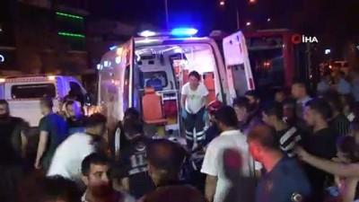 ticari taksi -  İzmir'de zincirleme kaza 4 yaralı