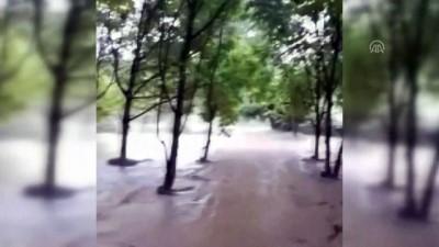 Keskin'de sağanak ve dolu yağışı - KIRIKKALE