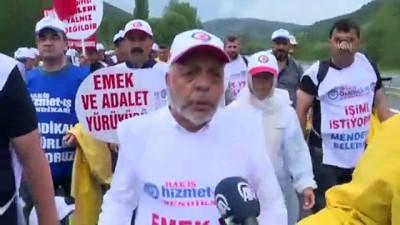 isten cikarma - Mahmut Arslan: 'Yürüyüşümüz mücadelemizin bir parçası, sonu değil' - ANKARA