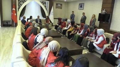 ogrenciler - Vali Akbıyık 'Damla Projesi' gönüllülerini kabul etti - HAKKARİ