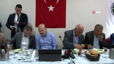 kacak gocmen -  Bakan Soylu: '8 teröristin 2'si dün akşam Bitlis'in Sehi ormanlarında ölü olarak ele geçirildi. 6 terörist ile daha temas halindeler'