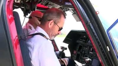 Belediye başkanı israf dedi, helikopter hava taksi oldu