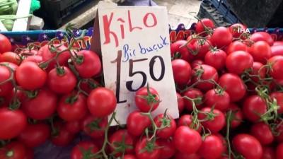 yukselen -  Denizli'de sebze ve meyve fiyatlarındaki düşüş yüzleri güldürdü