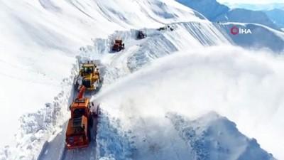 kar yagisi -  Karayollarının kış mesaisi sona erdi