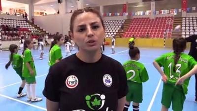 Mini Mini Hentbol Türkiye Şampiyonası başladı - AMASYA