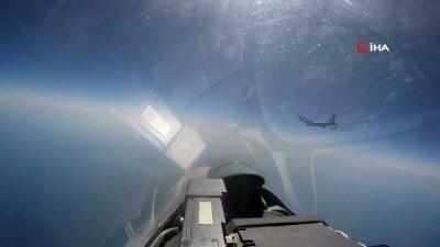 - Rus savaş uçağı ABD uçağını engelledi