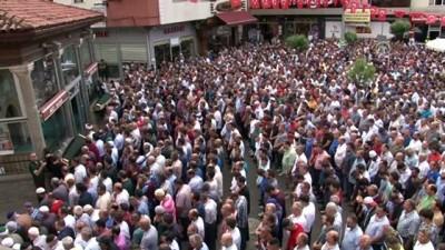Araklı'daki sel - Hayatını kaybeden Soner Özbay ve Ali Abdullah Osmanoğlu için cenaze töreni düzenlendi - TRABZON