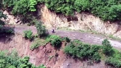 Araklı'daki sel - Kayıp 6 kişiyi arama çalışmaları sürüyor (2) - TRABZON