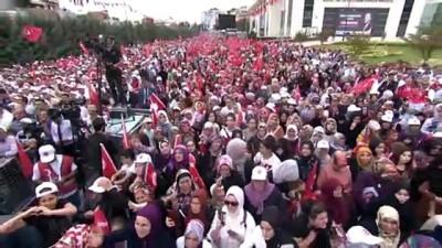 genel baskan - Erdoğan: 'CHP adayına destek ya Kandil'den, ya Kandil'in güdümündeki partinin cezaevindeki eski genel başkanı Selo'dan ya da yurt dışından geliyor' - İSTANBUL
