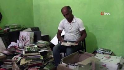 kullar -  Gazetecinin kitap kampanyasına Denizli'den büyük destek