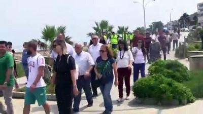 'Sağlık için 10 bin adım' yürüyüşü - DÜZCE