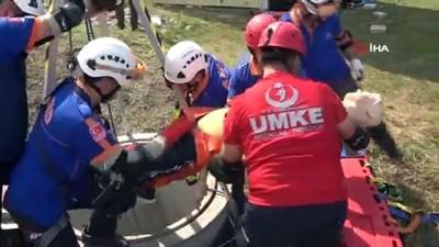sel felaketi -  Samsun AFAD Müdürlüğü'nden nefes kesen deprem tatbikatı