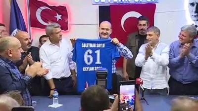 Soylu, Gaziosmanpaşa'da Ceylan Spor Kulübü Derneği ziyaretinde konuştu - İSTANBUL