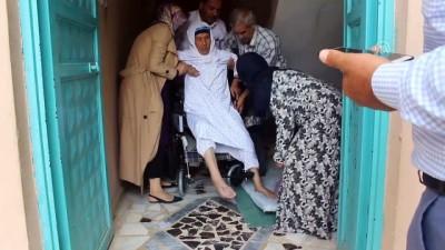 Suriyeli kadının tekerlekli sandalye sevinci - ŞANLIURFA