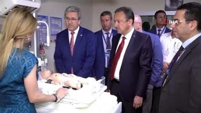 Ege'de Türkiye'nin ilk 'Neonatal Simülasyon Laboratuvarı' açıldı