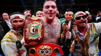 Meksika asıllı ABD'li boksör Andy Ruiz Dünya Ağırsiklet Boks Şampiyonu oldu