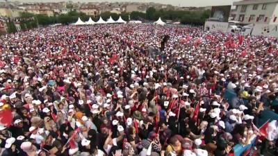 genel baskan - Cumhurbaşkanı Erdoğan: 'Adayları genel başkanının adını bile anmaktan kaçınıyor' - İSTANBUL