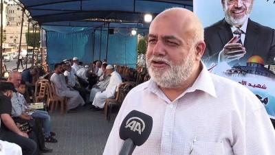 Gazze'de Muhammed Mursi için taziye çadırı kuruldu - GAZZE
