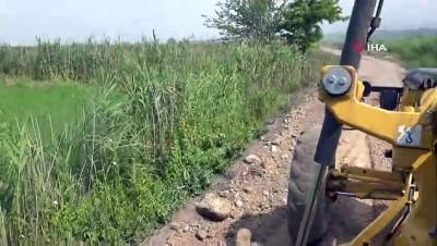 Pamukkale Belediyesi'nden çiftçiler için alt yapı atağı