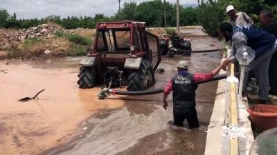Sel tarım arazilerine zarar verdi - NİĞDE