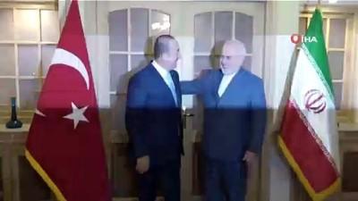 cekim -  - Bakan Çavuşoğlu, Cevad Zarif'le Bir Araya Geldi