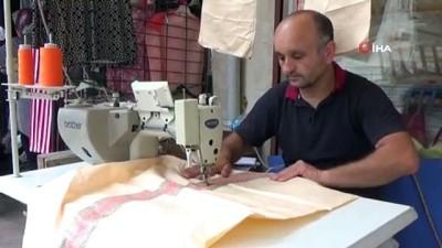 findik toplama -  Bu da Karadeniz usulü bahçe pantolonu
