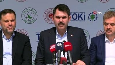 Çevre ve Şehircilik Bakanı Murat Kurum, 'Kentsel Dönüşüm Bilgilendirme Toplantısı'na katıldı