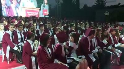 ogrenci velisi - Cumhurbaşkanı Yardımcısı Oktay, Haydarpaşa Lisesi mezuniyet törenine katıldı - İSTANBUL