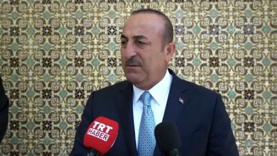 Dışişleri Bakanı Çavuşoğlu gazetecilerin sorularını yanıtladı - İSFAHAN