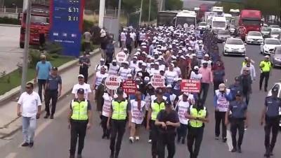 isten cikarma - 'Emek ve Adalet Yürüyüşü' (2) - ANKARA