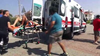 Fethiye'de iki motosiklet çarpıştı: 3 yaralı