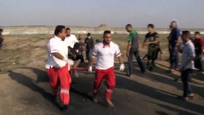 mermi - Gazze sınırındaki 'Büyük Dönüş Yürüyüşü' gösterileri (4) - GAZZE