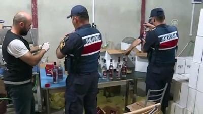 kacak icki - İzmir'de sahte içki 'fabrikası' ortaya çıkarıldı
