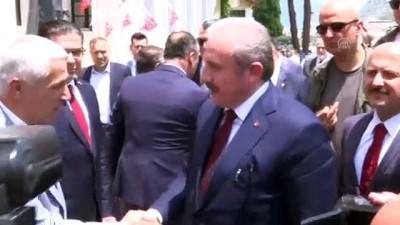 TBMM Başkanı Mustafa Şentop Amasya'da